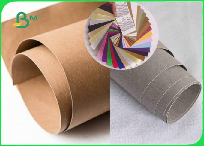 Colorful Fabric Washable Kraft Paper 0. 55mm to 0. 8mm In Roll For Handbag